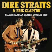 NELSON MANDELA BENEFIT CONCERT  by DIRE STRAITS & ERIC CLAPTON  Compact Disc  GSF045