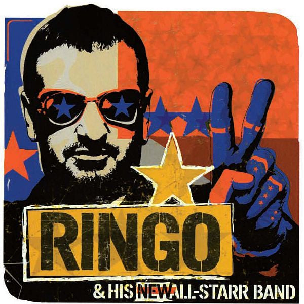 FROM CHICAGO'S ROSEMONT THEATRE,AUGUST 2001 RINGO STARR & HIS ALL-STARR BAND cd