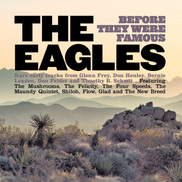 BEFORE THEY WERE FAMOUS by EAGLES Compact Disc  GSGZ261CD