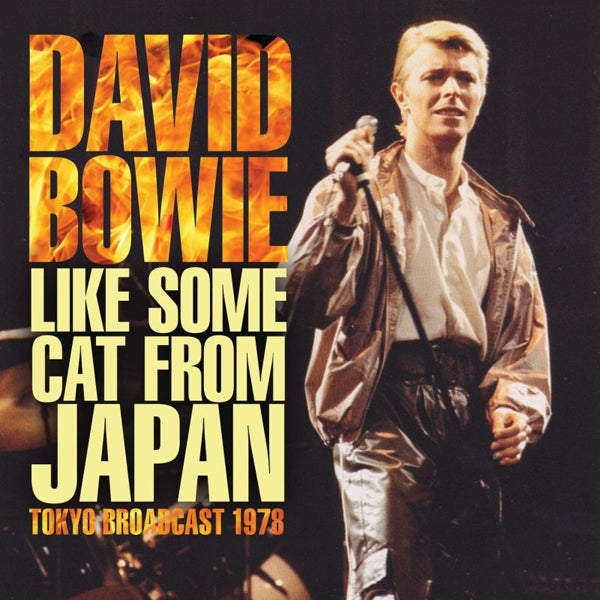 LIKE SOME CAT FROM JAPAN by DAVID BOWIE Compact Disc  HB064