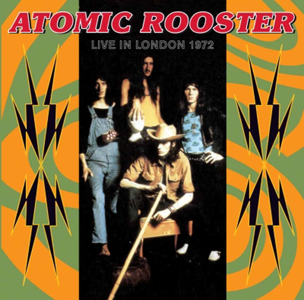 LIVE IN LONDON 27TH JULY 1972  by ATOMIC ROOSTER  Compact Disc  HST426CD