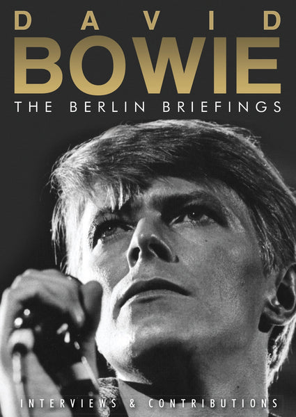 THE BERLIN BRIEFINGS  by DAVID BOWIE  DVD  IVF066