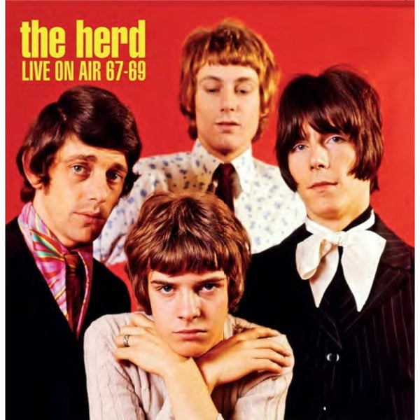 LIVE ON AIR 1967 - 1969 by HERD, THE Compact Disc  LCCD5047