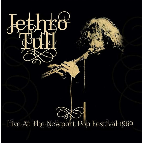 LIVE AT THE NEWPORT POP FESTIVAL 1969 by JETHRO TULL Compact Disc  LCCD5075