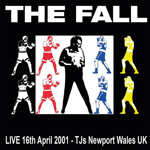 LIVE TJ'S, NEWPORT 16/04/01 by FALL, THE Vinyl Double Album LETV586LP