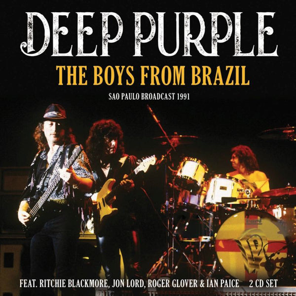 THE BOYS FROM BRAZIL (2CD) by DEEP PURPLE Compact Disc Double LFM2CD652