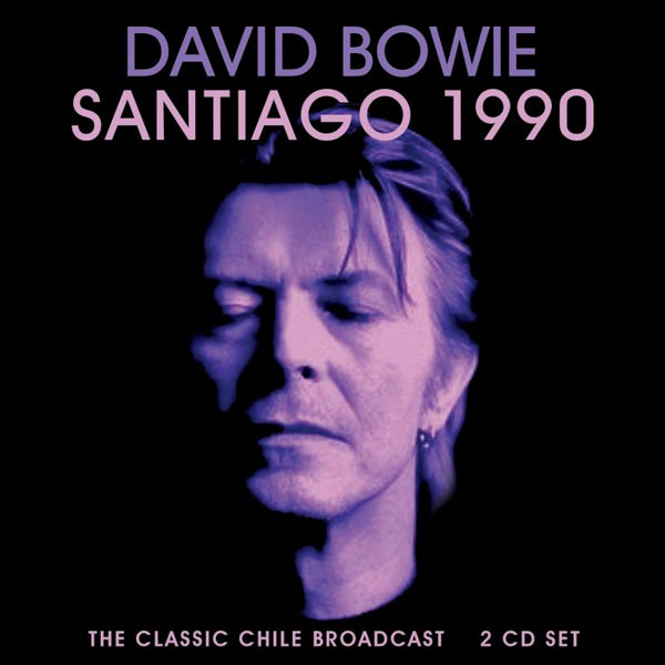 SANTIAGO 1990 (2CD) by DAVID BOWIE Compact Disc Double  LFM2CD664