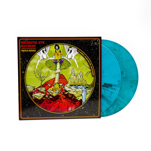 ELECTRIC LADYLAND [REDUX] (LIGHT BLUE/BLACK MARBLE VINYL) by VARIOUS ARTISTS Vinyl Double Album  MER033LP1