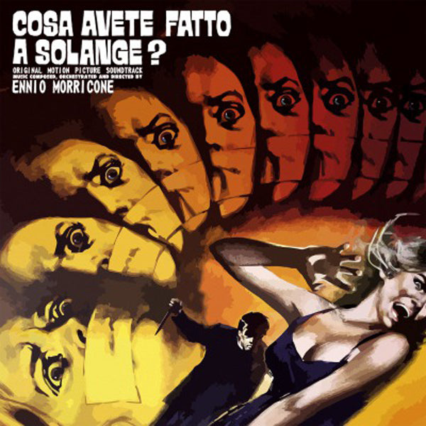 COSA AVETE FATTO A SOLANGE OST (1LP COLOURED) by ENNIO MORRICONE Vinyl LP  MOVATM268C
