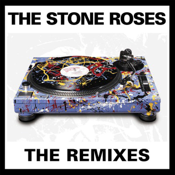 REMIXES (2LP BLACK) by STONE ROSES Vinyl Double Album  MOVLP2761