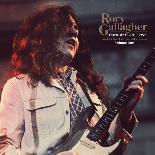 OPEN AIR FESTIVAL 1982 VOL.1 by RORY GALLAGHER Vinyl Double Album  OTS002
