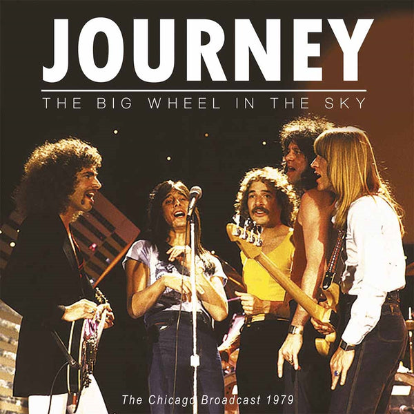 THE BIG WHEEL IN THE SKY  by JOURNEY  Vinyl Double Album  PARA084LP