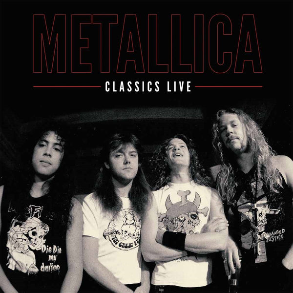CLASSICS LIVE  by METALLICA  Vinyl Double Album  PARA152LPLTD coloured