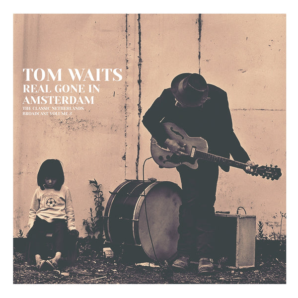 REAL GONE IN AMSTERDAM VOL. 2  by TOM WAITS  Vinyl Double Album  PARA305LP