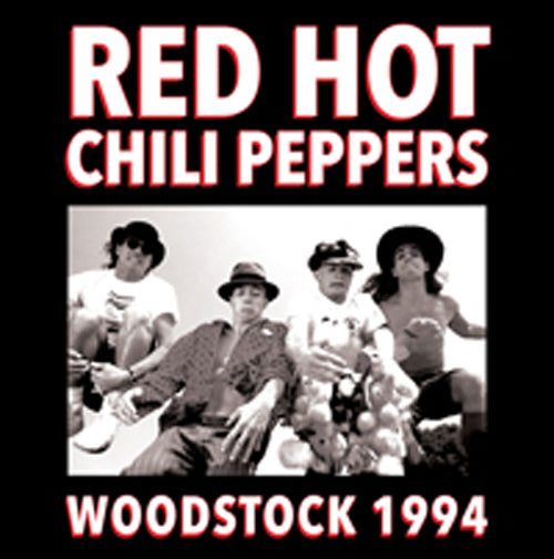 WOODSTOCK 1994 by RED HOT CHILI PEPPERS Vinyl Double Album PARA358LP