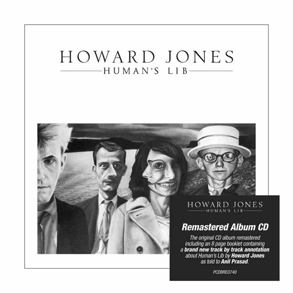 HUMAN'S LIB: REMASTERED & EXPANDED EDITION  by HOWARD JONES  Compact Disc  PCDBRED740