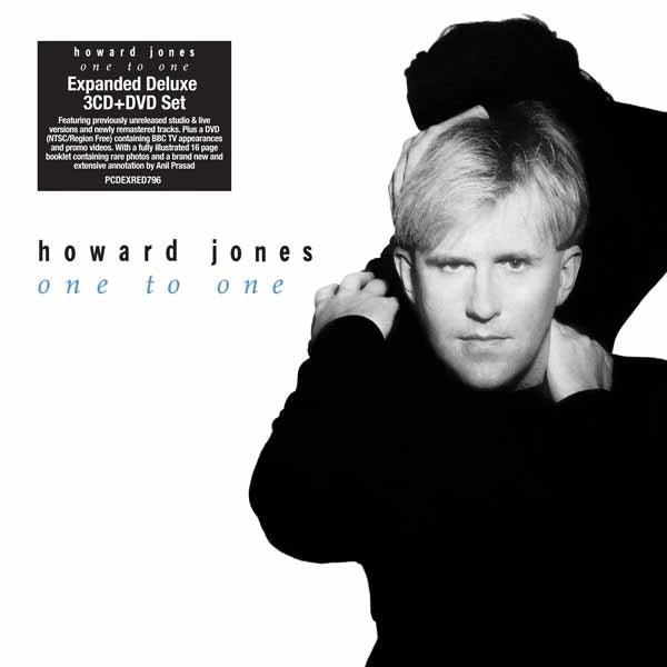 ONE TO ONE: EXPANDED DELUXE 3CD/1DVD SET  by HOWARD JONES  Compact Disc - 4 CD Box Set  PCDEXRED796