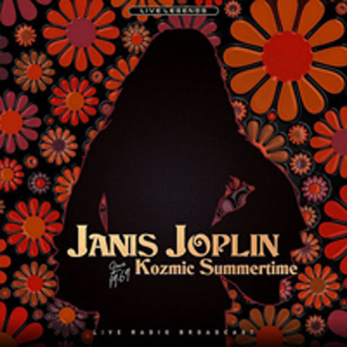 KOZMIC SUMMERTIME by JANIS JOPLIN ltd transparent red Vinyl LP PHR1001