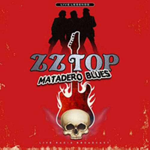 MATADERO BLUES by ZZ TOP Vinyl LP ltd transparent red PHR1009