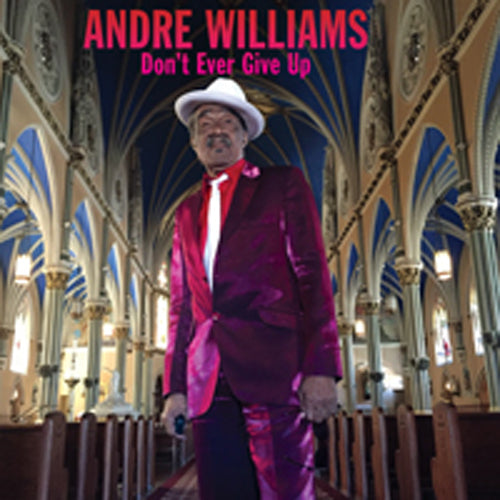 DON'T EVER GIVE UP by ANDRE WILLIAMS Compact Disc PR6403CD