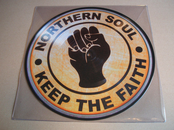 "various ‎– Northern Soul Keep The Faith 12"" vinyl picture disc lp"