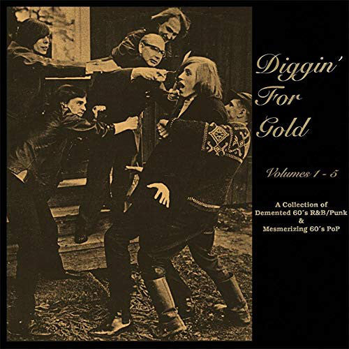 DIGGIN' FOR GOLD - VOLUMES 1 - 5 (5CD)  by VARIOUS ARTISTS  Compact Disc - 5 CD Box Set  RUB5CDBOX9