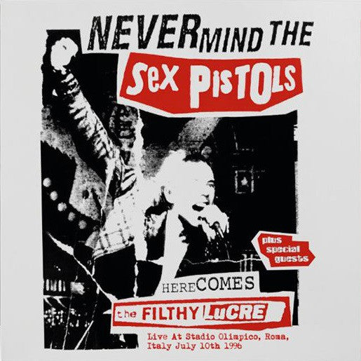 Sex Pistols ‎– Live At Stadio Olimpico, Roma, Italy July 10th 1996 LTD RED vinyl lp