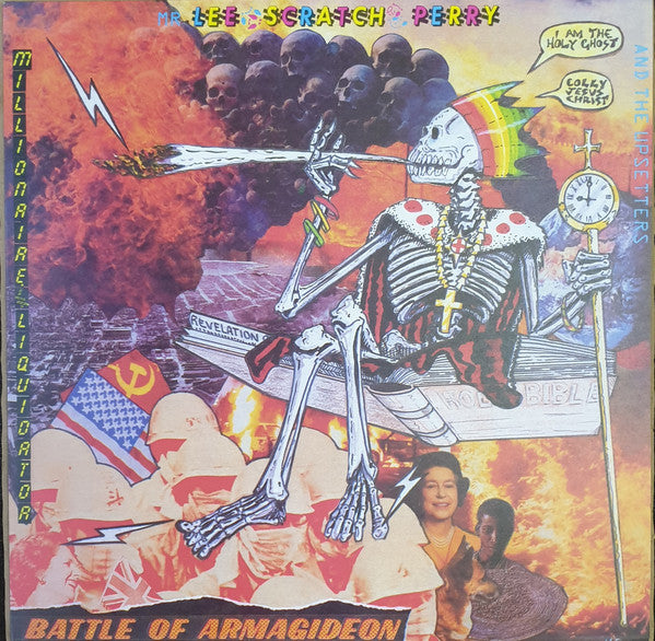 Mr. Lee 'Scratch' Perry And The Upsetters Battle Of Armagideon (Millionaire Liquidator) orange vinyl lp