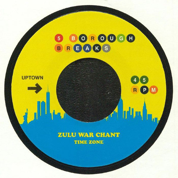 "Time Zone / Betty Wright ‎– Zulu War Chant / Clean Up Woman vinyl 7"" 5 Borough Breaks"