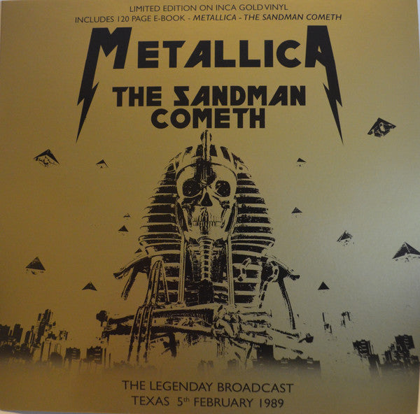 Metallica ‎– The Sandman Cometh ltd gold vinyl lp
