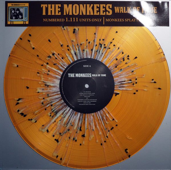 the monkees walk of fame Vinyl LP ltd splatter colour LTD NUMBERED