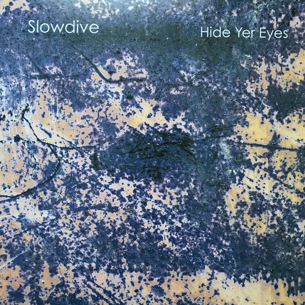 Slowdive - Hide Yer Eyes  black vinyl lp   rare shoegaze
