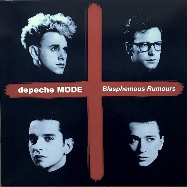 Depeche Mode ‎– Blasphemous Rumours Basel Switzerland 30 November 1984 WHITE  vinyl lp