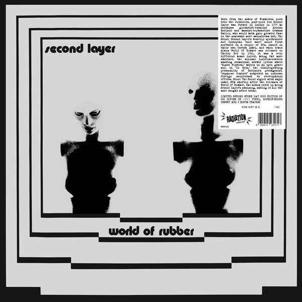 Second Layer ‎– World Of Rubber vinyl lp grey ltd numbered RSD 2020