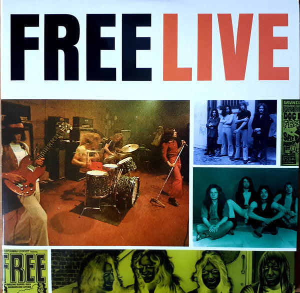 Free ‎– LiveVinyl, LP, Etched, Limited Edition, Numbered, 2xLP