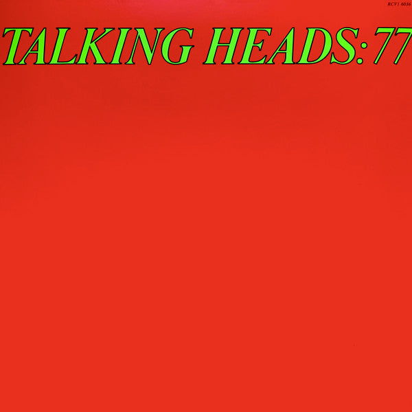Talking Heads ‎– Talking Heads: 77  ltd Green Translucent vinyl lp