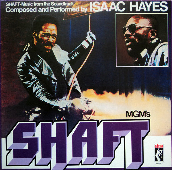 SHAFT OST by ISAAC HAYES Vinyl Double Album  SX2021
