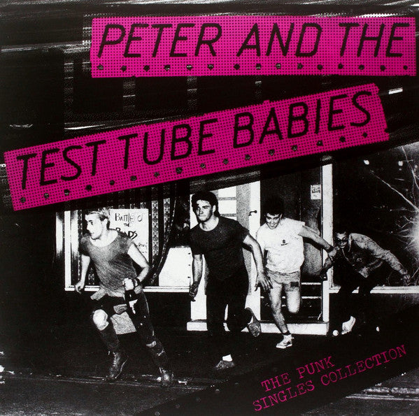 peter and the test tube babies ‎– The Punk Singles Collection vinyl lp rrs35
