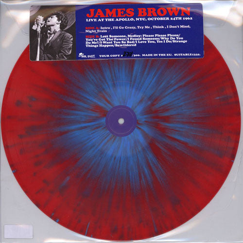 LIVE AT THE APOLLO NYC, OCTOBER 24TH 1962 JAMES BROWN Vinyl LP SUITABLE1332