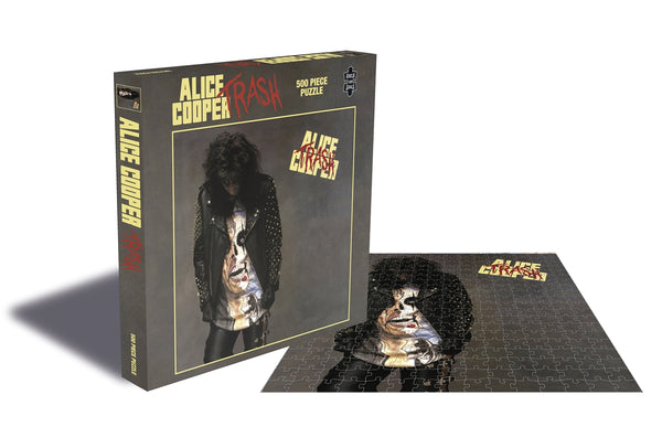 TRASH (500 PIECE JIGSAW PUZZLE)  by ALICE COOPER  Puzzle  RSAW059PZ