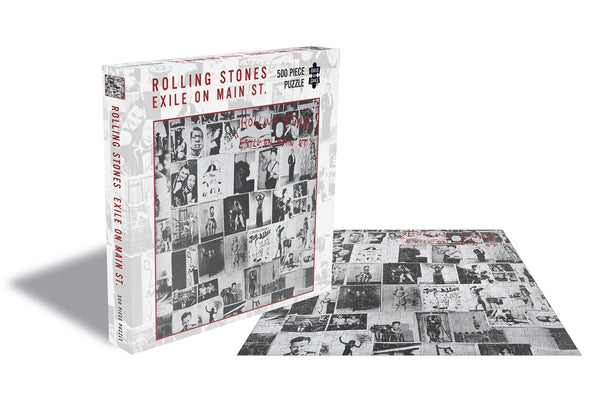 EXILE ON MAIN ST. (500 PIECE JIGSAW PUZZLE)  by ROLLING STONES, THE  Puzzle  RSAW073PZ   PRE ORDER