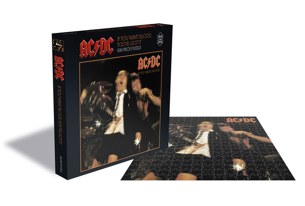 IF YOU WANT BLOOD (500 PIECE JIGSAW PUZZLE)  by AC/DC  Puzzle  RSAW104PZ   pre order