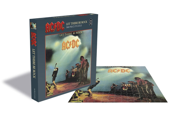 LET THERE BE ROCK (500 PIECE JIGSAW PUZZLE)  by AC/DC  Puzzle  RSAW105PZ   pre order