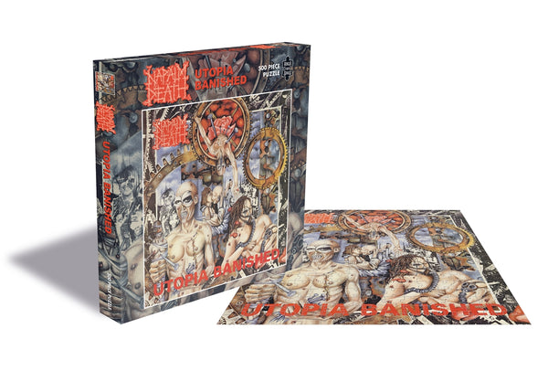 UTOPIA BANISHED (500 PIECE JIGSAW PUZZLE)  by NAPALM DEATH  Puzzle  RSAW118PZ   pre order