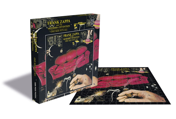 ONE SIZE FITS ALL (1000 PIECE JIGSAW PUZZLE) by FRANK ZAPPA & THE MOTHERS OF INVENTION Puzzle  RSAW138PZT