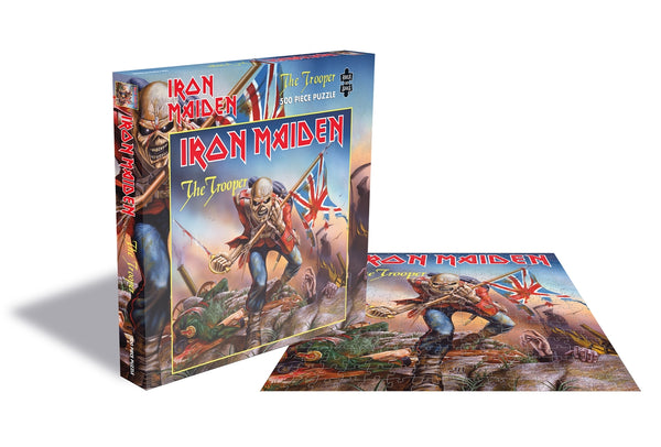 THE TROOPER (500 PIECE JIGSAW PUZZLE) by IRON MAIDEN Puzzle  RSAW161PZ