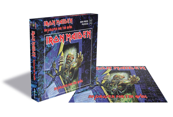 NO PRAYER FOR THE DYING (500 PIECE JIGSAW PUZZLE) by IRON MAIDEN Puzzle  RSAW165PZ