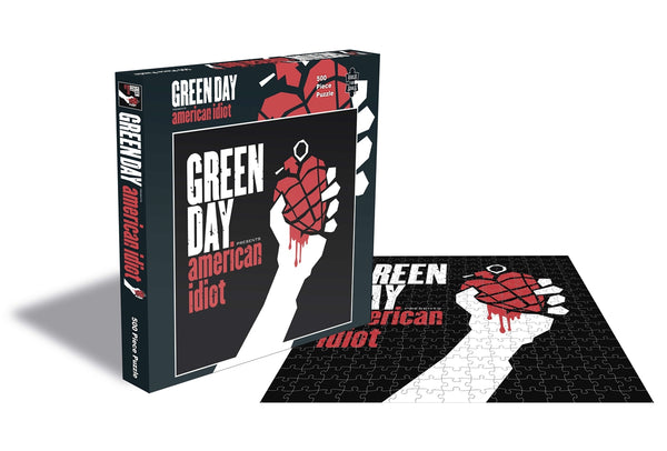 AMERICAN IDIOT (500 PIECE JIGSAW PUZZLE) by GREEN DAY Puzzle  RSAW184PZ