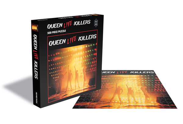 LIVE KILLERS (500 PIECE JIGSAW PUZZLE) by QUEEN Puzzle     RSAW187PZ