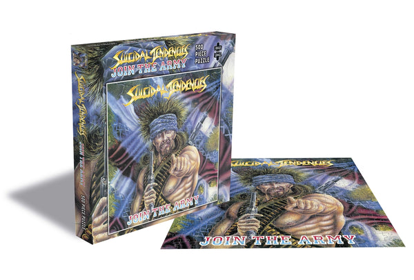 JOIN THE ARMY (500 PIECE JIGSAW PUZZLE) by SUICIDAL TENDENCIES Puzzle  RSAW197PZ